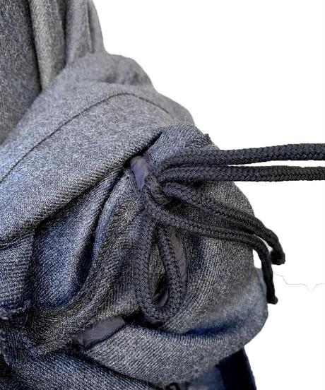 ウール手繰りスカート