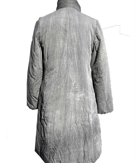 天泣中綿ロングコート