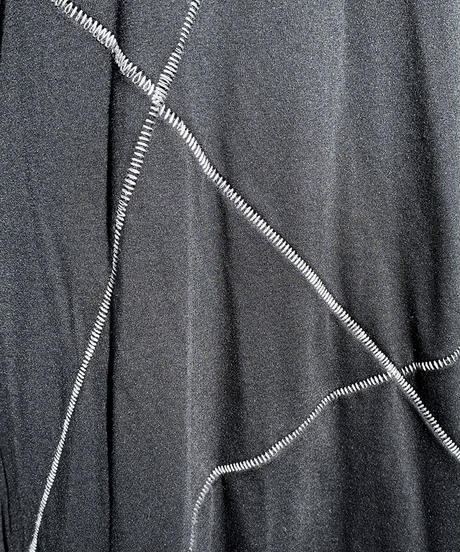 柵縫合タートルカットソー