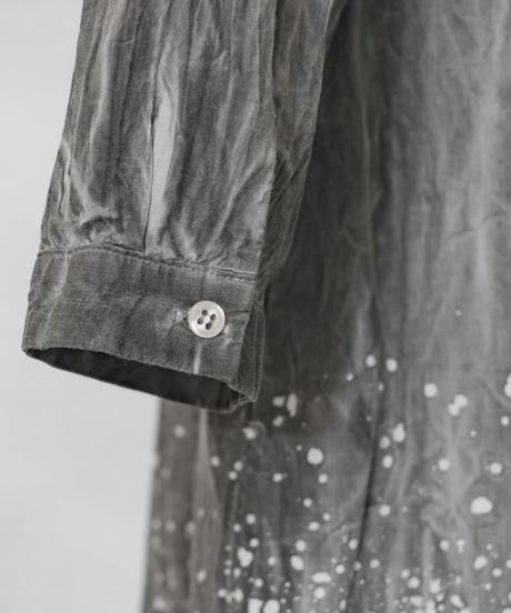 朧染 -oborozome- ワークロングシャツ