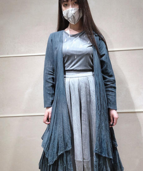 藍墨羽爵 -ushaku- カーディガン