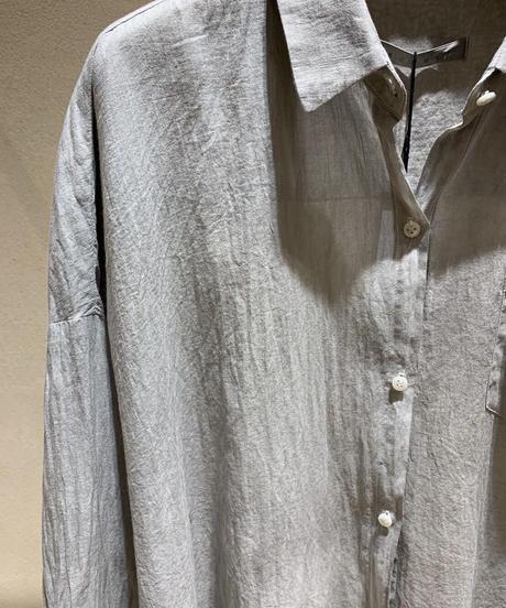 墨染コットンドロップシャツ