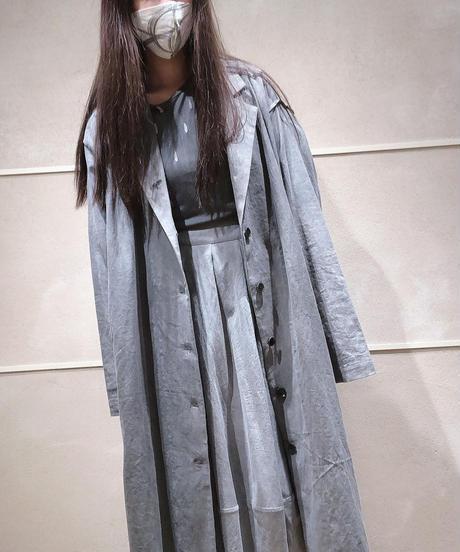 綿麻スリットコート