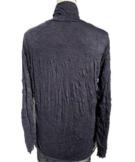 二重シワ加工セーター