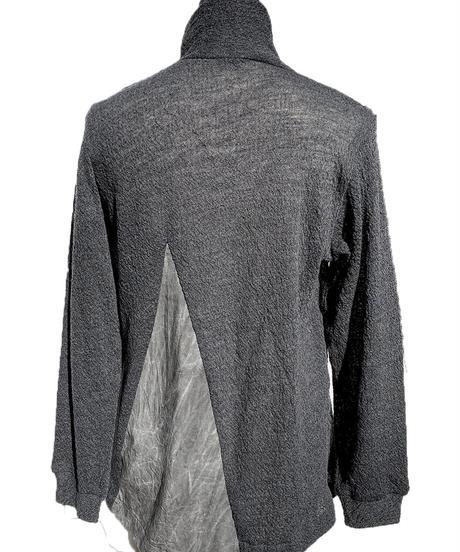 三角 墨染 切替セーター