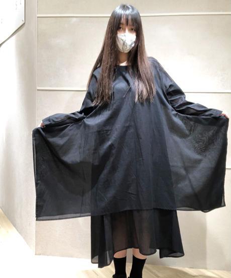 黒東雲ワンピース長袖