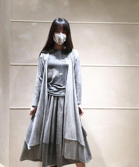 八雲 -yakumo- カットソー五分袖(写真は長袖です)