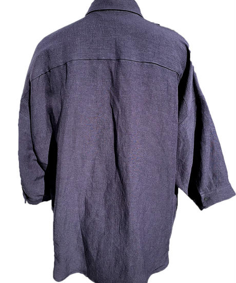 濃鼠 ドロップシャツ