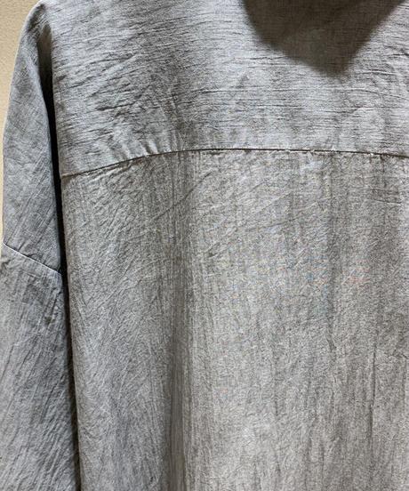 墨染ロングドロップシャツ