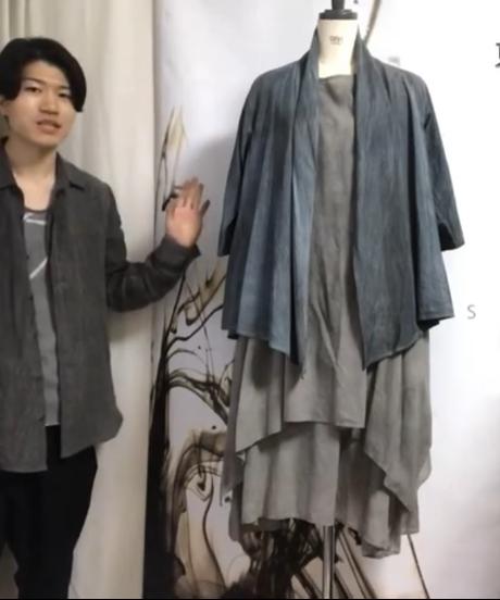 東雲 -shinonome- ワンピース長袖