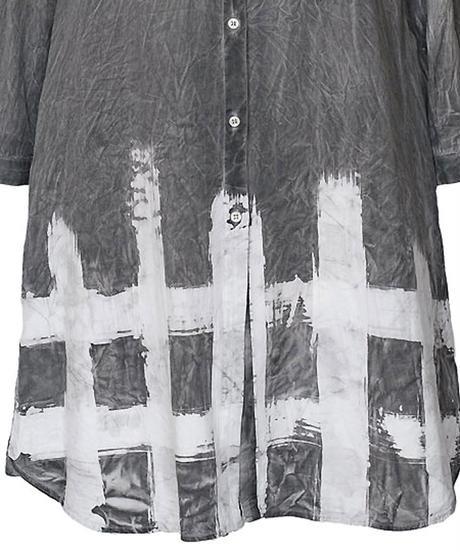 格子 -koushi- ワークロングシャツ