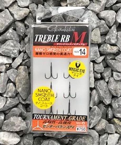 がまかつ/トレブルRB-M #14 ナノ・スムース・コート