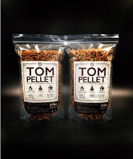 トム・ペレット1.2kg用 2袋セット(燃料・小動物用トイレまたは敷料用)