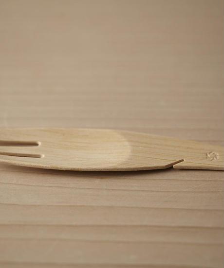 竹製フォーク 12本