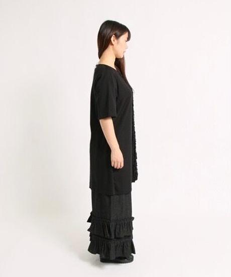 裾フリルデニムパンツ(82067)