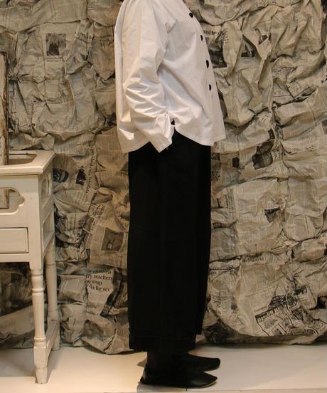 BCコットン裾タックパンツ(82260)