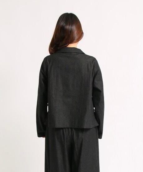 ブラックデニムジャケット(82065)