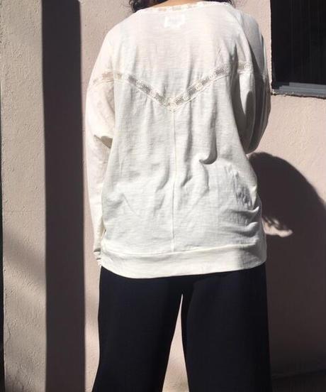 SWILDENS【スウィルデンズ】レースカットソー (XX202L018C)