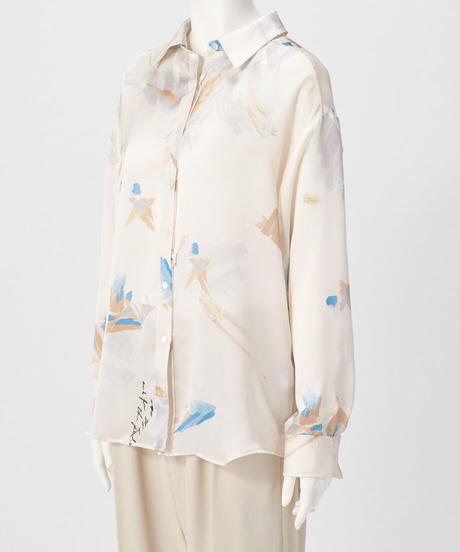 ペイントプリントシャツ(予約販売)
