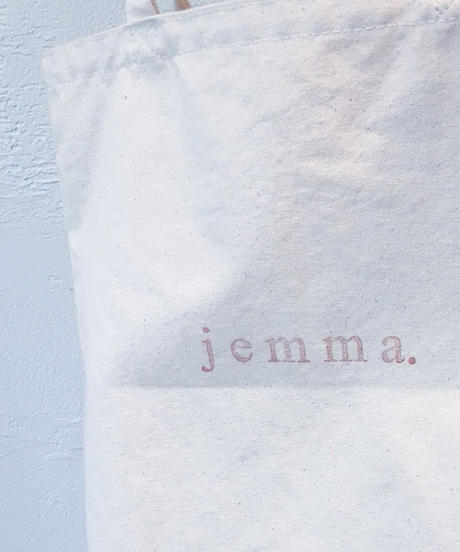jemma.ロゴトートバッグ