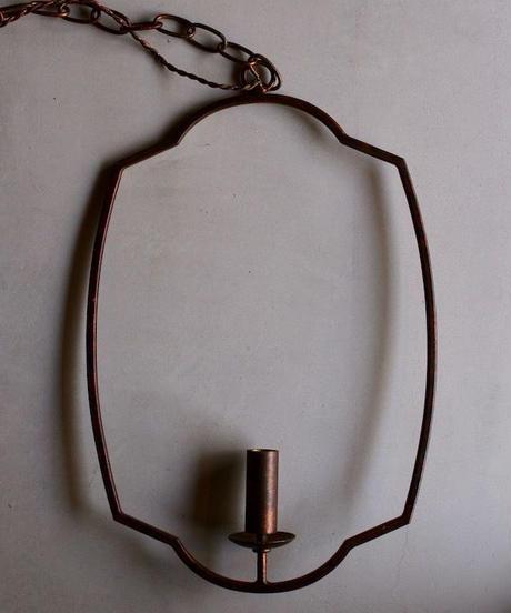 アイアン製シャンデリア  frame