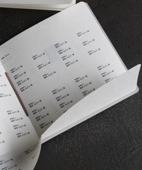 席次表&プロフィール スクエア 手作りキット 10部