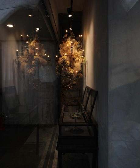 シャンデリア(アイアン製)10灯 アンティークゴールド