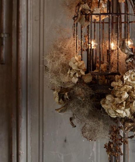 シャンデリア(アイアン製)bird cage 3灯