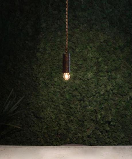 アイアン製 ペンダントライト 1灯 ショート