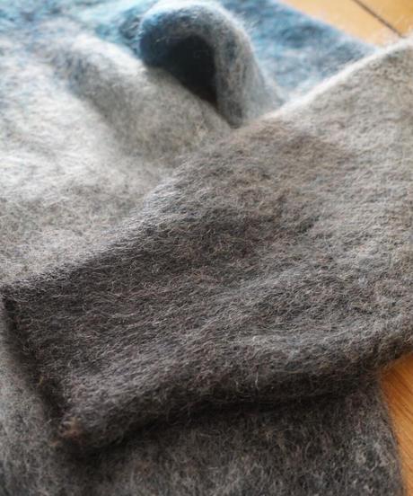 Mohair gradation knit 【MIST】