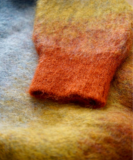 Mohair gradation knit 【Twilight  】