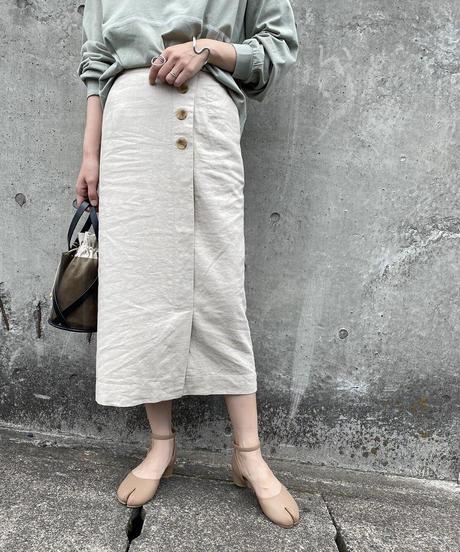 フレンチリネン スカート