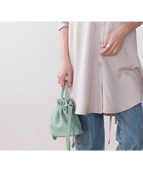カラー 巾着バッグ