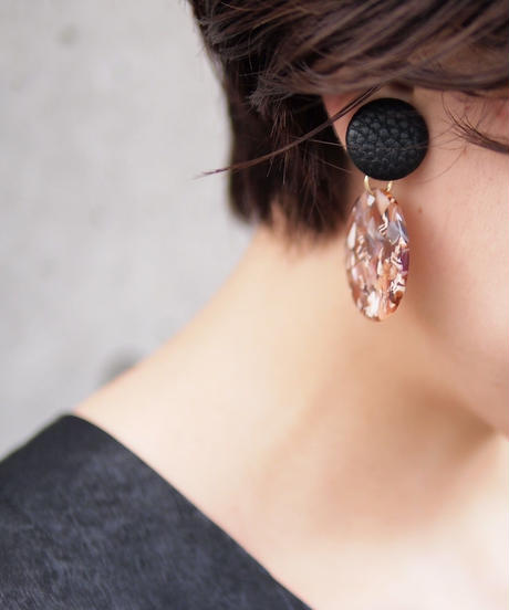 Hand made earrings-j010