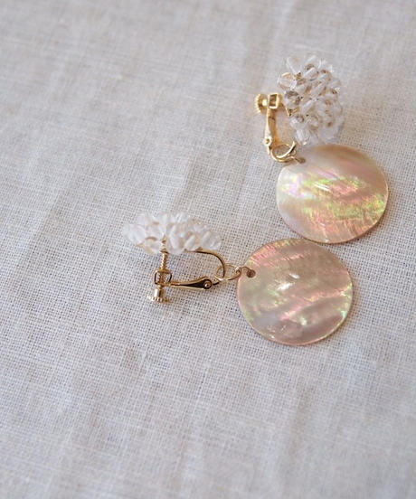 Hand made earring-j120