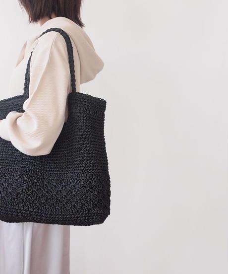 編み込みトートバッグ