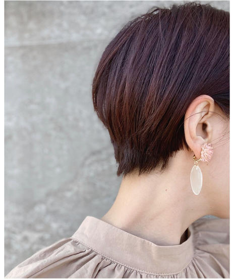 Hand made earring-j118
