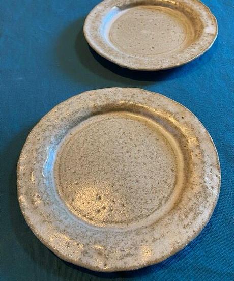 クリーム丸皿
