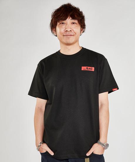 ボックスロゴ半袖Tシャツ/Black【10月初旬発送】
