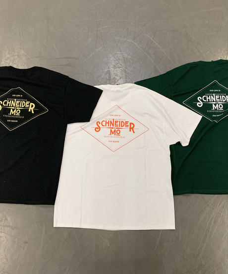 LOGO T-SHIRTS / WHITE