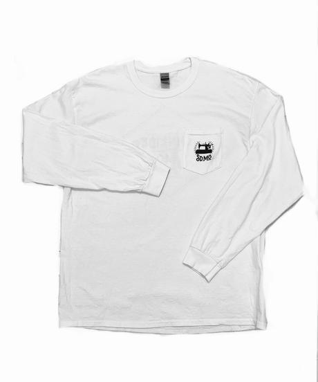 Pocket Longsleeve T / White