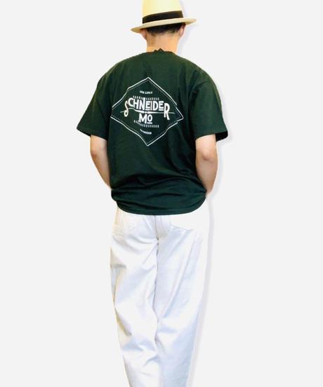 LOGO T-SHIRTS / GREEN