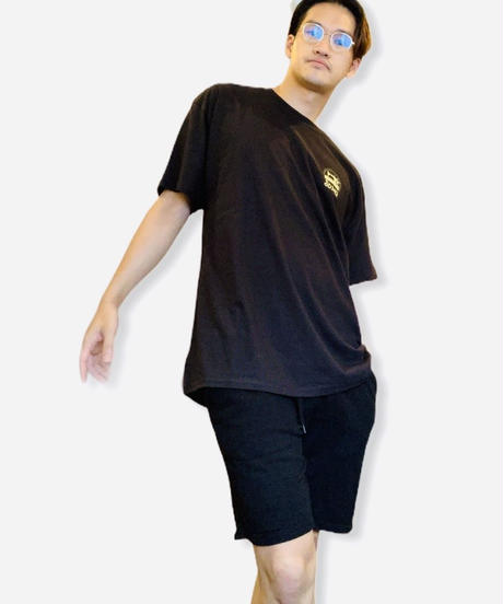 LOGO T-SHIRTS / BLACK