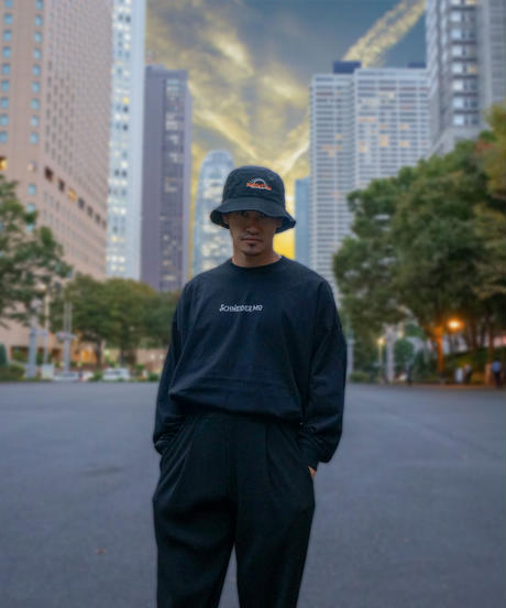 Big Silhouette Long Sleeve T feat KEiSUKE