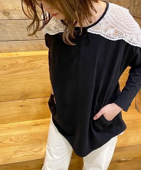 shoulder lace catsew(2color)