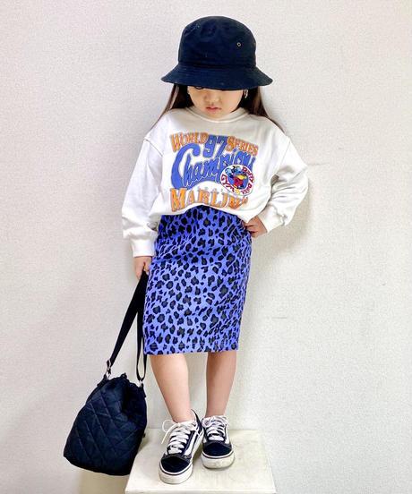 トップス+豹スカートセット