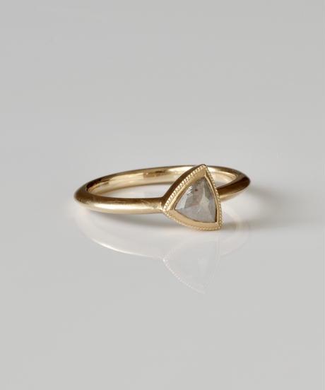 One of a kind / Diamond Ring <K18YG> - R416CYG