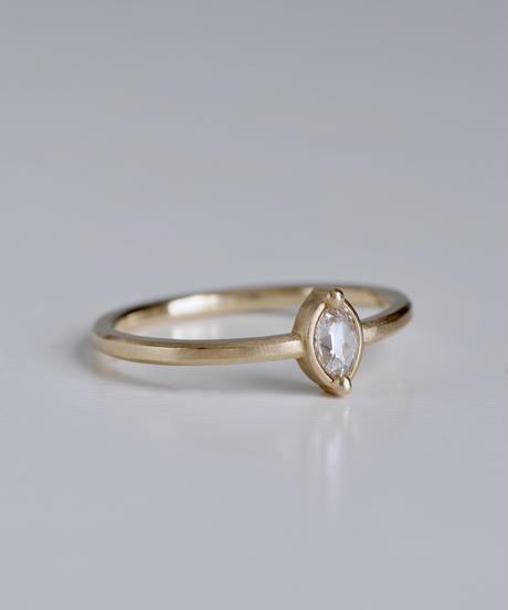 One of a kind / Diamond Ring <K18YG> - R145C