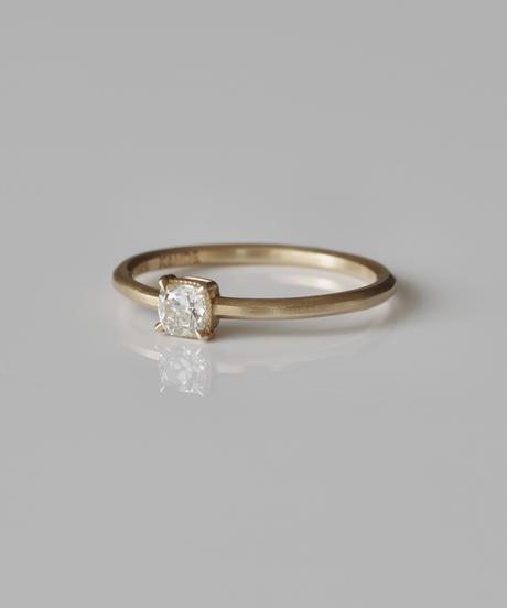 One of a kind / Diamond Ring <K18YG> - R276CYG