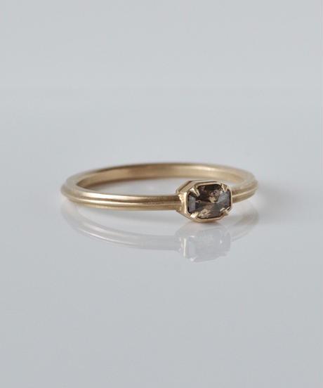 One of kind / Diamond Ring <K18YG> -R296C
